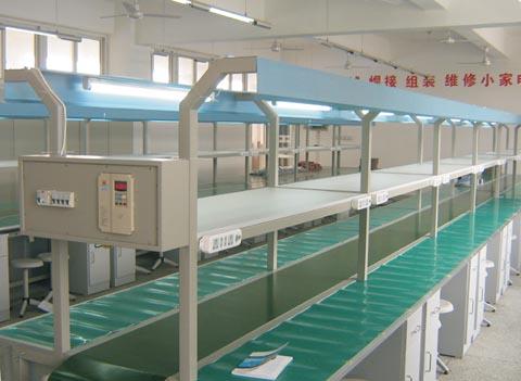 皮带传送焊接调试生产线
