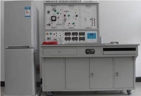 三位半数显,用波段开关进行切换,可分别测量冷冻室温度,冷藏室温度