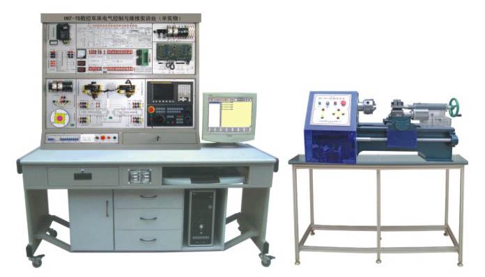 数控车床电气控制与维修实训台(半实物)|数控车床