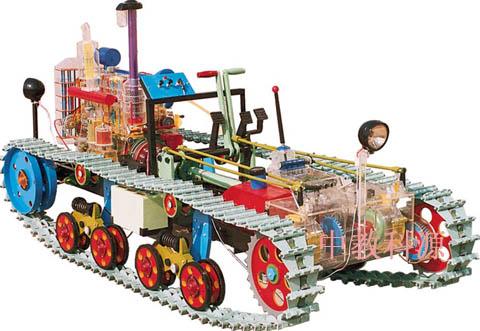 欧豹拖拉机变速箱拆法 结构图