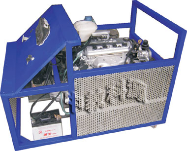 汽车电器电路实习台:按照汽车标准