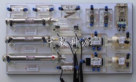 液压plc控制实验装置,透明液压传动实验装置