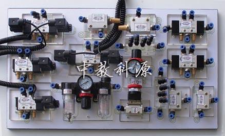 继电器控制气动电路图
