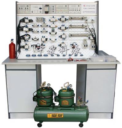气动PLC控制实验设备 液压PLC控制实验设备 透明液压传动实验 气动图片