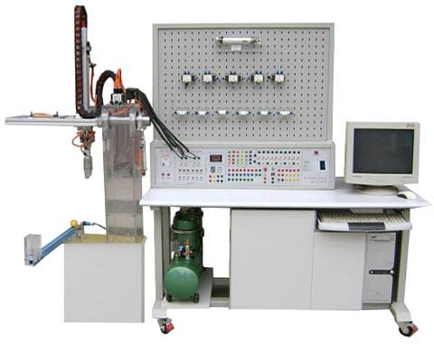 气动压传动系统与机械手实验装置图片